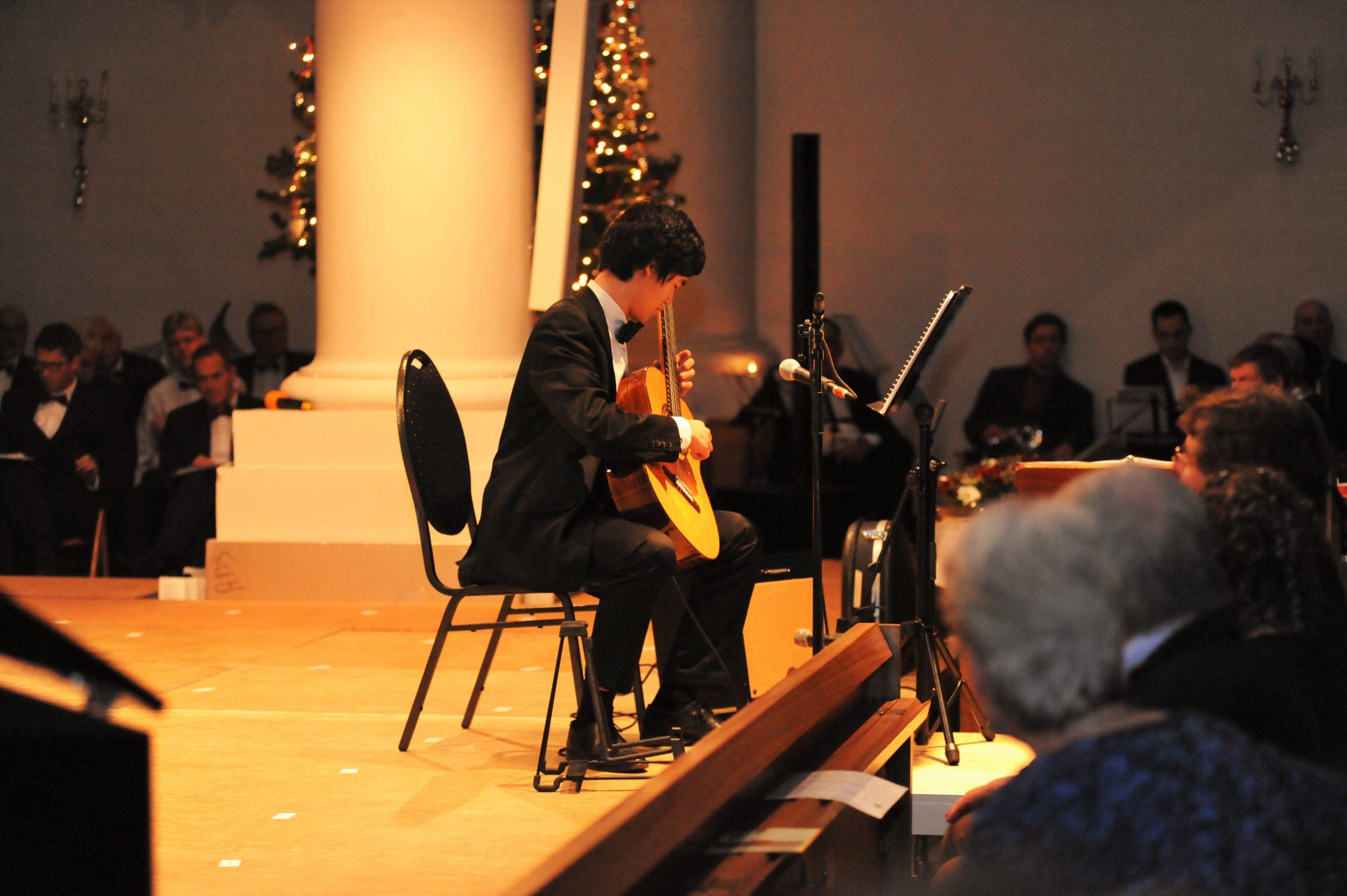 Gastartiest bij het Kerstconcert van ABS te Steenbergen